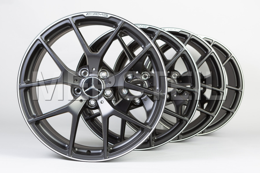 AMG 19 Inch Set Of Final Edition Forged Wheels for SLS AMG C197 including Front Rims (2 pcs.), Rear Rims (2 pcs.) in Wheels & Tyres.