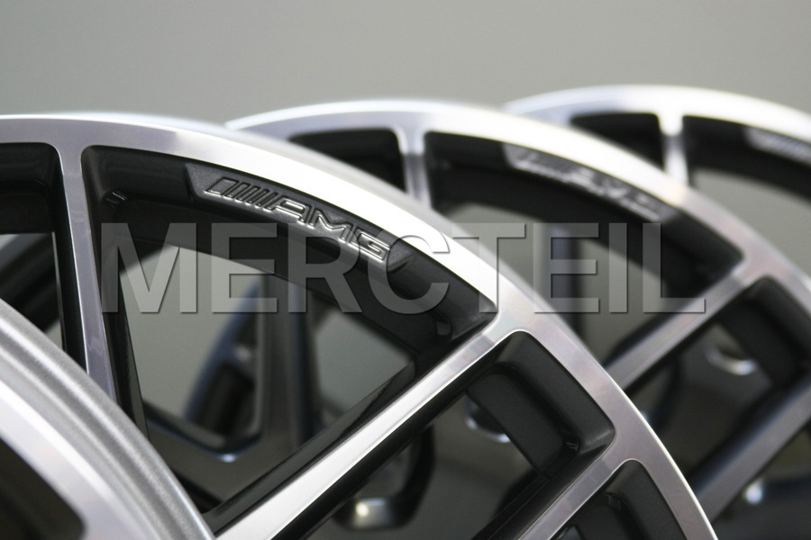 AMG 22 Inch Alloy Wheels Kit for GLE Class C292 including Front Rims (2 pcs.), Rear Rims (2 pcs.) in Wheels & Tyres.