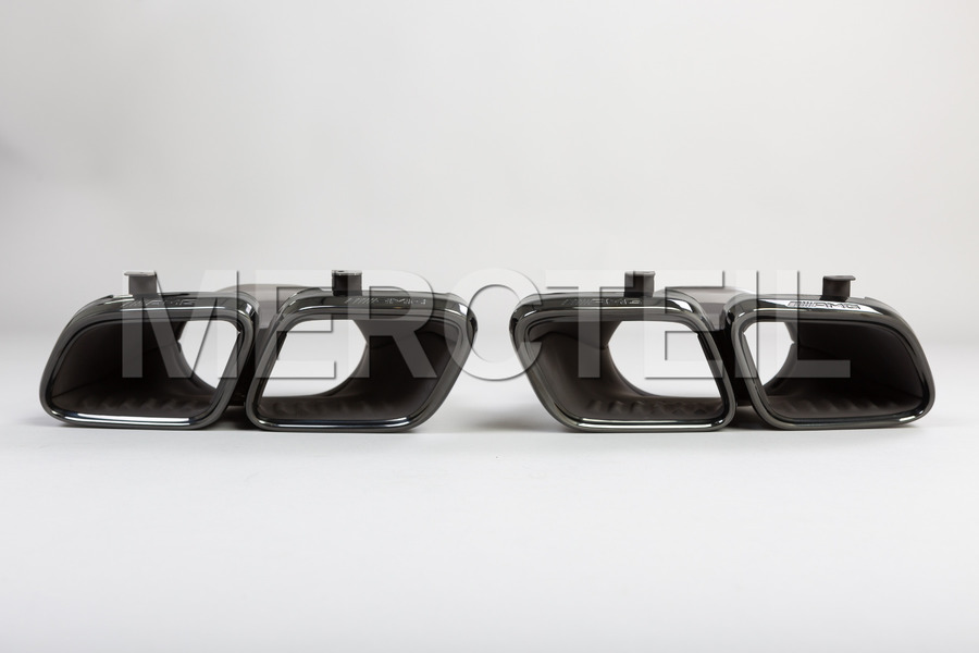 AMG 63 Night Package Tail Pipe Covers Set including Exhaust Tailpipes (2 pcs.) in Engine & Exhaust System.