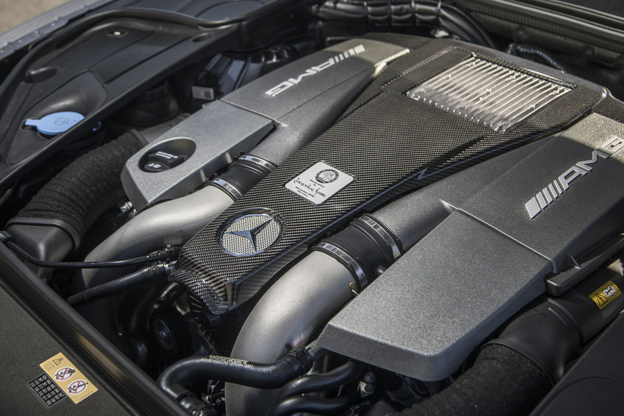 AMG 63 Ornamental Carbon Motor Covering including Carbon Motor Covering (1 pc.) in Seats & Trims, Engine & Exhaust System.