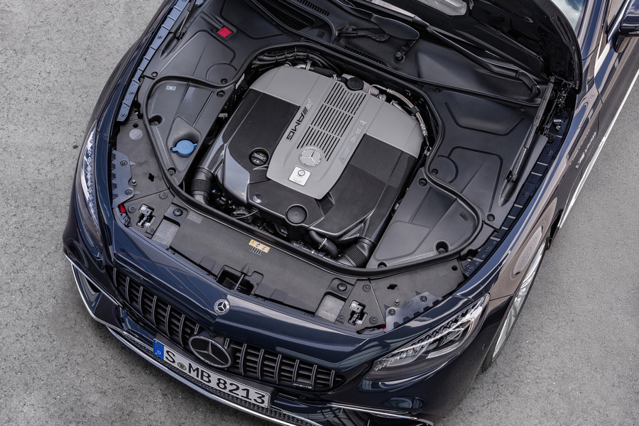 AMG 65 Exclusive Carbon Motor Covering for M279 including Carbon Motor Covering (1 pc.) in Engine & Exhaust System.