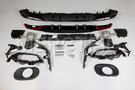 AMG A35 Aerodynamic Rear Diffuser Night Package Kit for A Class W177 including Diffuser Main Parts and Brackets (1 pc.), Exhaust Tailpipes (2 pc.), Ornamental Moldings and Trims (1 pc.), Mounting Elements and Parts (1 pc.) in Body Parts & Aerodynamics, Engine & Exhaust System.