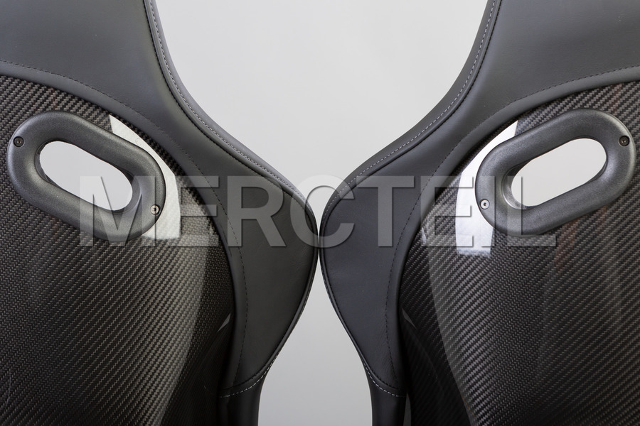AMG Carbon Performance Seats for AMG GT Coupe C190 including Driver and Passanger Seats (2 pcs.), Seat Adjustment Kit (2 pcs.) in Seats & Trims.