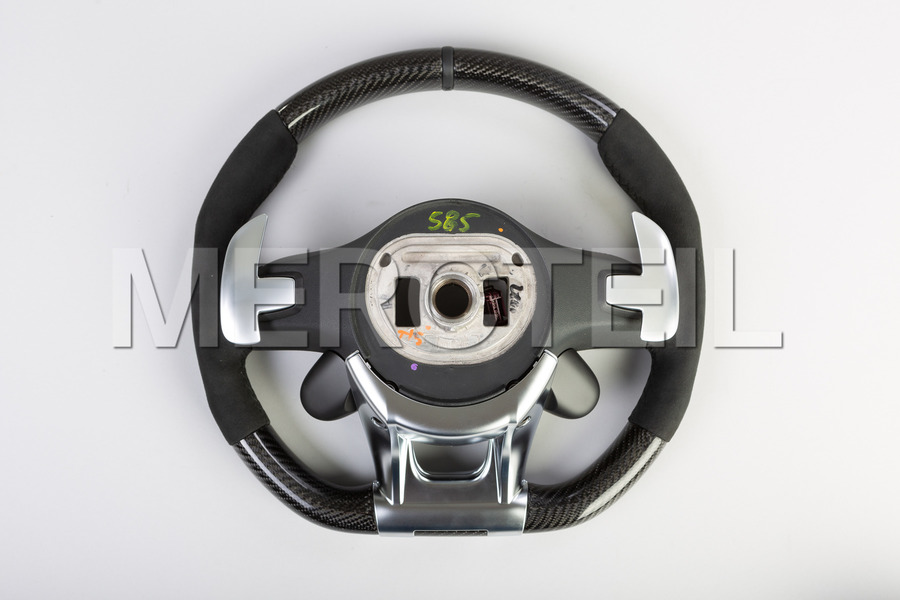 AMG Carbon Steering Wheel Alcantara and AMG Switch Panels including Steering Wheel (1 pc.), Covers (2 pcs.), Gearshift Paddels Set (1 pc.), Contact Plate With Switch Panel (1 pc.) in Electronics & Multimedia, Steering Wheels.