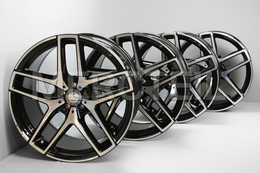AMG GLE Class 21 Inch Set of Alloy Wheels for C292 including Front Rims (2 pcs.), Rear Rims (2 pcs.) in Wheels & Tyres.