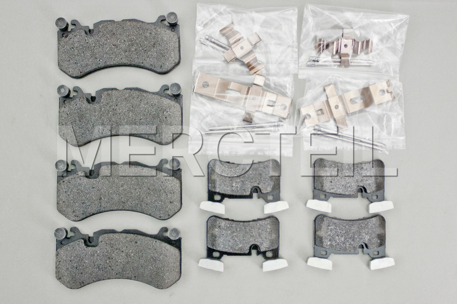 AMG Gold Brake System for E CLass W212, CLS CLass C218 including Brake Discs Front And Rear (4 pcs.), Fixed Calipers Front And Rear (4 pcs.), TS Disk Brake Pad Front And Rear (2 sets) in Brakes & Suspensions.