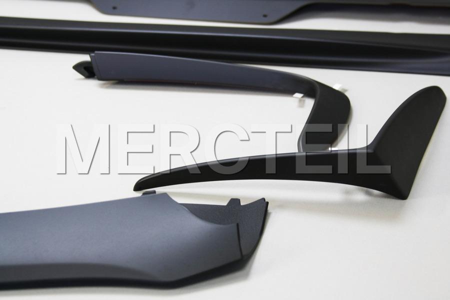AMG GT Edition 1 Retrofit Kit for AMG GT C190 including AMG GT C190 Edition 1 Side Skirt Moldings (2 pcs.), AMG GT C190 Edition 1 Front Spoiler (1 pc.), AMG GT C190 Edition 1 Front Flics (2 pcs.) in Body Parts & Aerodynamics.
