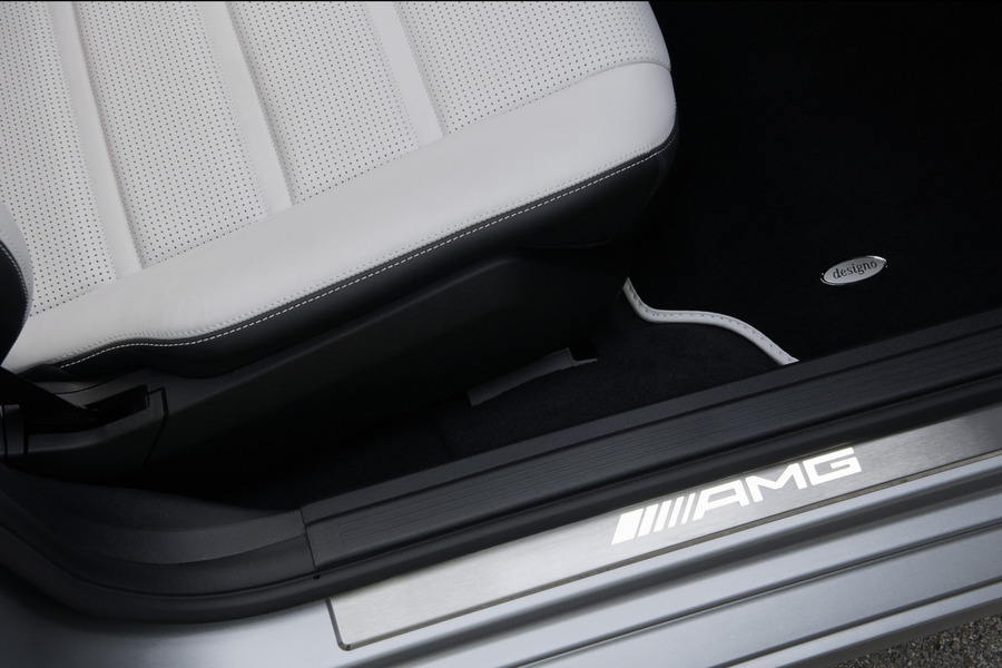 AMG Illuminated Door Sill Panels for E Class W212, CLS Class C218 including Front Door Sill Moldings (2 pcs.) in Seats & Trims.
