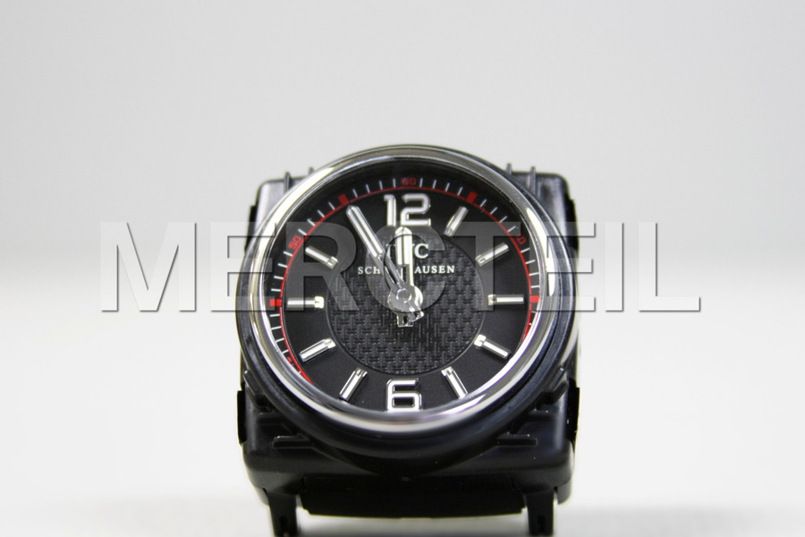 AMG IWC Clock  Edition 1 with Red Lining including IWC Clock (1 pc.) in Seats & Trims, Electronics & Multimedia.