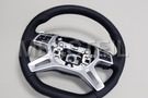 AMG Leather Steering Wheel for SUV including  Steering Wheel (1 pc.), Covers (2 pcs.), Gearshift Paddels Set (1 pc.), Contact Plate With Switch Panel (1 pc.) in Steering Wheels.