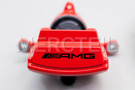 AMG Red Colored Brake System for S Class W222, Coupe C217 including Brake Discs Front and Rear (4 pcs.), Fixed Calipers Front and Rear (4 pcs.), TS Disk Brake Pad Front and Rear Set (2 pcs.) in Brakes & Suspensions.