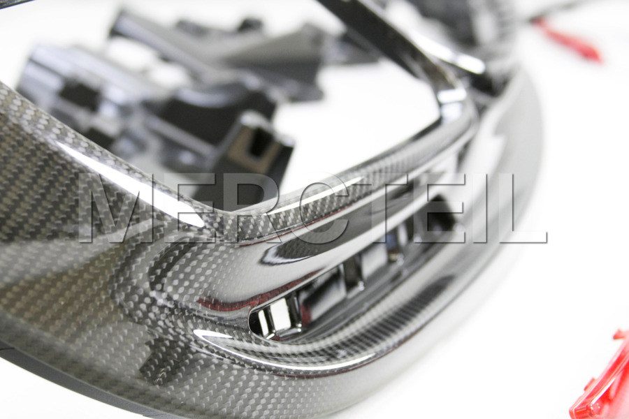 AMG S63 Coupe Carbon Diffuser Retrofit Kit for S Class Coupe C217 2015 including AMG Tail Pipes S63 (2 pcs.), Diffuser (1 pc.), Ornamental Mouldings Night Package (1 pc.), Fastening Elements Kit (1 pc.) in Body Parts & Aerodynamics, Engine & Exhaust System.