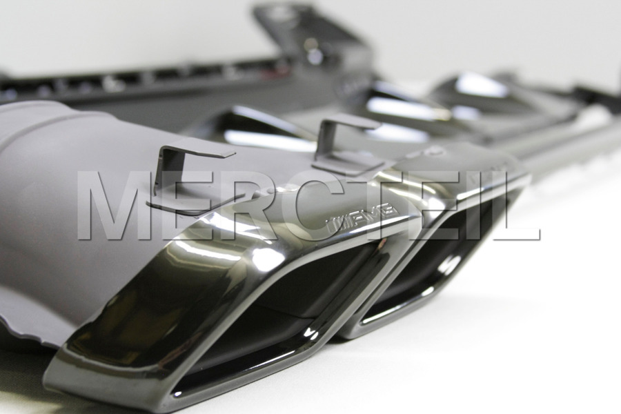 AMG S63 Coupe Night Diffuser Retrofit Kit for S Class Coupe C217 2015 including AMG Tail Pipes S63  Night Package (1 pc.), Diffuser (1 pc.), Ornamental Mouldings Night Package (1 pc.), Fastening Elements Kit (1 pc.) in Body Parts & Aerodynamics, Engine & Exhaust System.