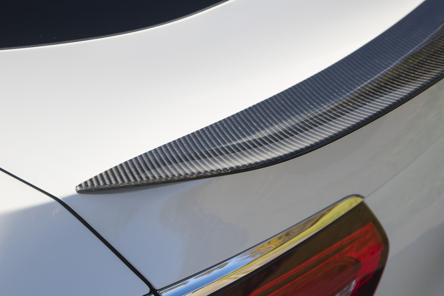 AMG Sport Carbon Rear Spoiler for GLC Class Coupe C253 including Lid Spoiler (1 pc.) in Body Parts & Aerodynamics.