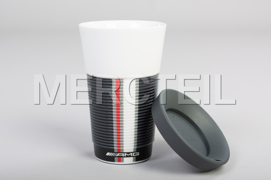 AMG Travel Mug including Travel Mug (1 pc.), Rubber Cap (1 pc.) in Accessories.