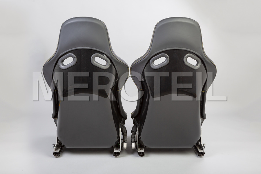 AMG Yellow Performance Seats for AMG GT C190 including Driver and Passanger Seats (2 pcs.), Seat Adjustment Kit (2 pcs.) in Seats & Trims.