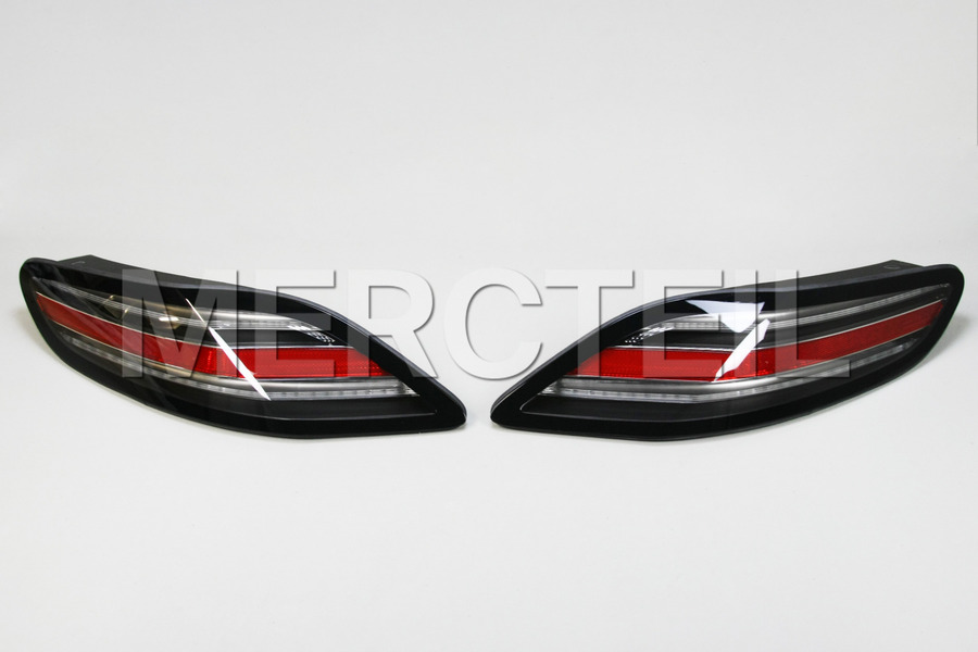 Black Series Tail Lights Set for AMG SLS C197 including Tail Lamp Units (2 pc.) in Lights & Electronics.