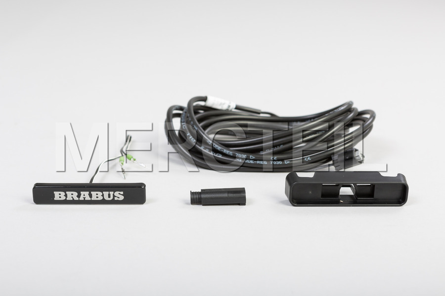 BRABUS Logo Badge For Front Grille for G Class W463A including BRABUS Emblem (1 pc.) in Body Parts & Aerodynamics.