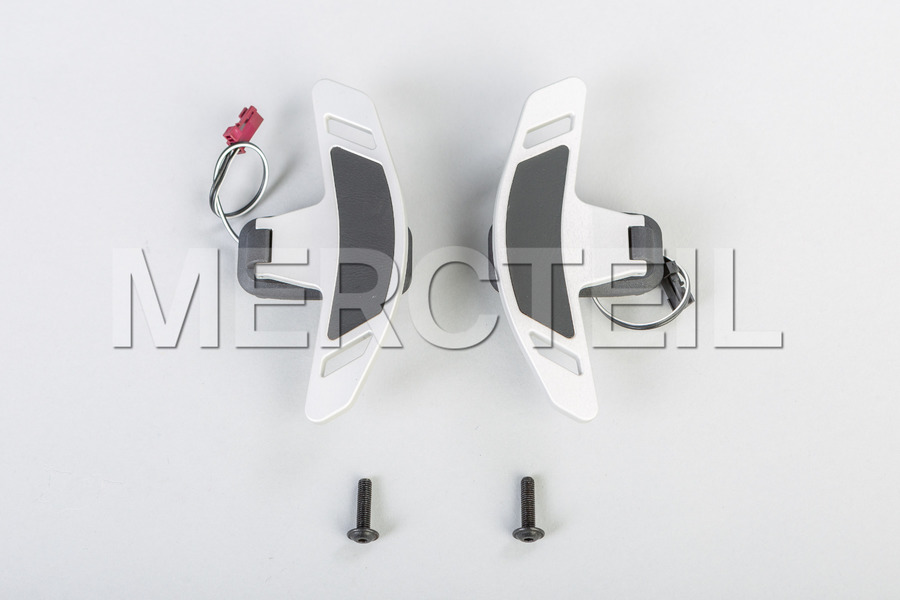 BRABUS Shift Paddles for Steering Wheel for G Class W463A including Gearshift Paddles Set (1 pc.) in Steering Wheels.