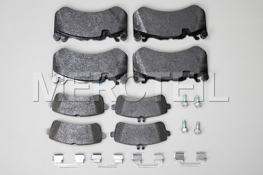Carbon Ceramic Brake System for SLS AMG C197 including Brake Discs Front And Rear (4 pcs.), Fixed Calipers Front And Rear (4 pcs.), TS Disk Brake Pad Front + Rear (2 sets) in Brakes & Suspensions.
