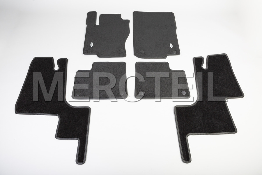 Designo Velour Floor Mats for GL Class X166, GLS Class X166 including Floor Mats (6 pcs.) in Accessories, Seats & Trims.