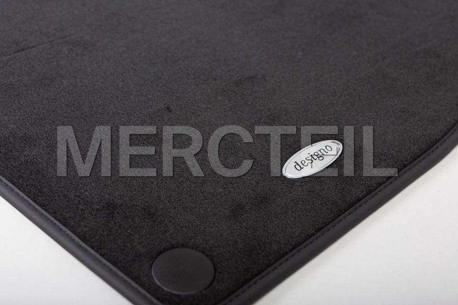 Designo Velour Floor Mats for S Class Coupe C217 including Designo Floor Mats (4 pcs.) in Accessories.