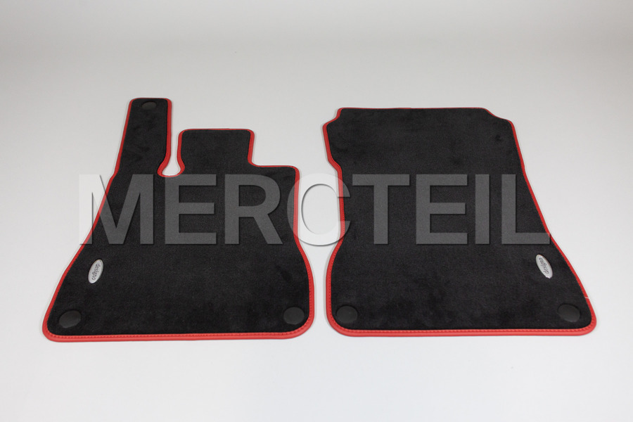 Designo Velour Floor Mats for SL Class R231 including Floor Mats (2 pcs.) in Accessories.