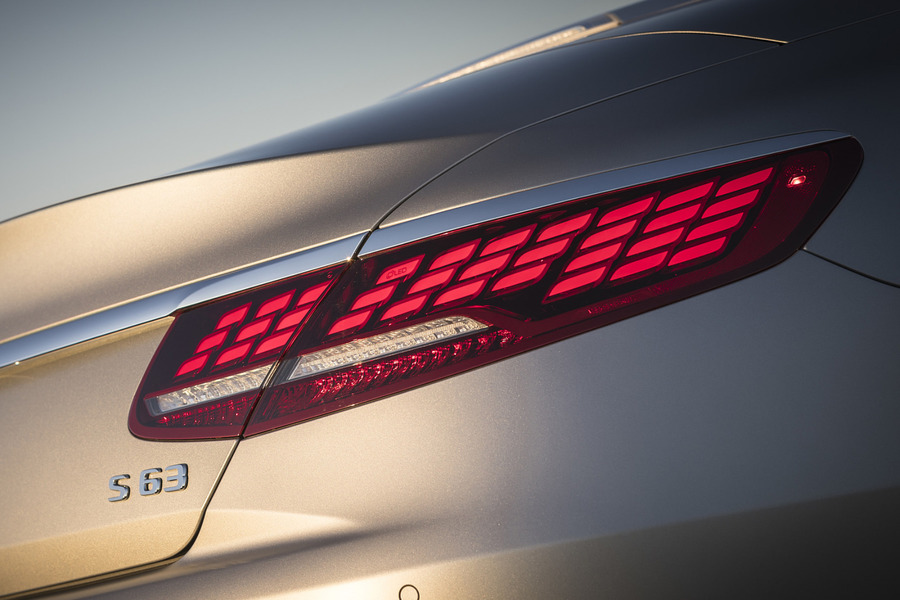 Facelift OLED Tail Lamps Set for S Class Coupe C217 including  Tail Lamps Units (2 pcs.) in Lights & Electronics.