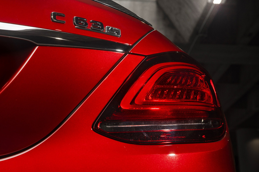 Facelift Tail Lamps Set for С Class W205 including  Tail Lamps Units (2 pcs.) in Lights & Electronics.
