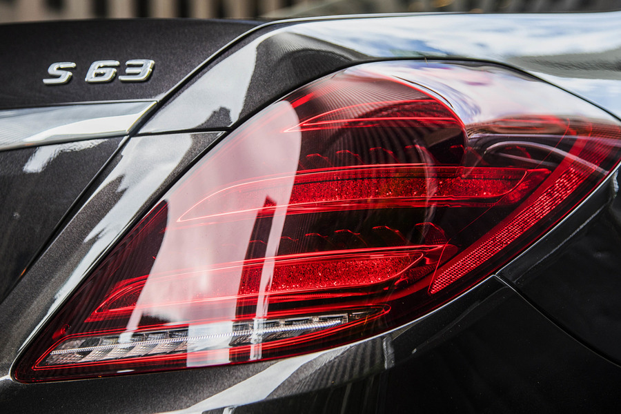 Facelift Tail Lamps Set for S Class W222 including  Tail Lamps Units (2 pcs.) in Lights & Electronics.