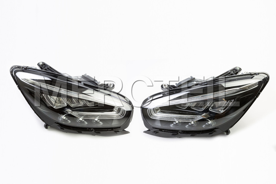 High Performance Dynamic Headlights for C190 including Lamp Units (2 pcs.), Control Unit (2 pc.),  Voltage Converter (2 pcs.), Control Unit Screws (8 pcs.) in Lights & Electronics.