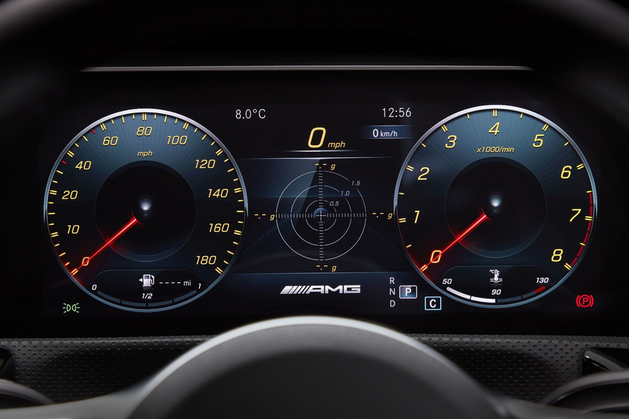 Instrument Cluster Displays for A, CLA B, EQC Class including Instrument Cluster (1 pc.) in Electronics & Multimedia.