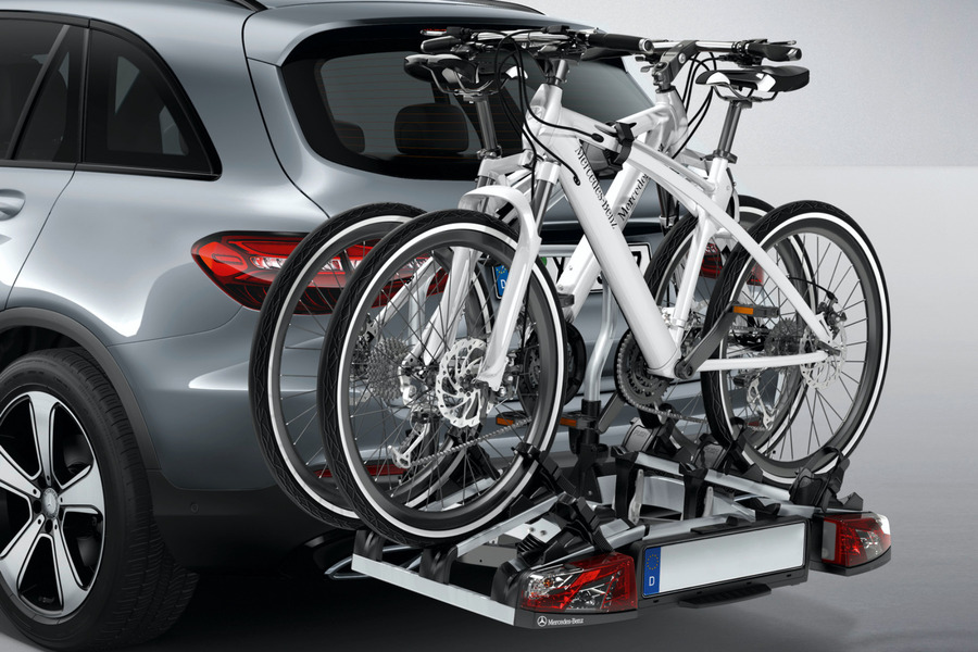 Mercedes-Benz Bicycle Carrier including Bicycle Carrier (1 pc.) in Accessories.