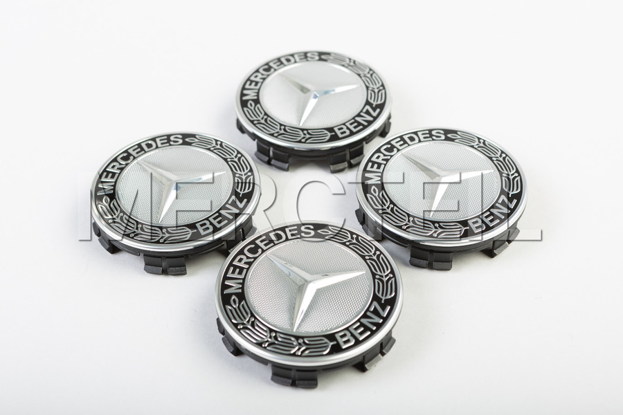 Mercedes Benz Classic Emblem Set Of Hub Caps including Hub Caps (4 pcs.) in Accessories, Wheels & Tyres.