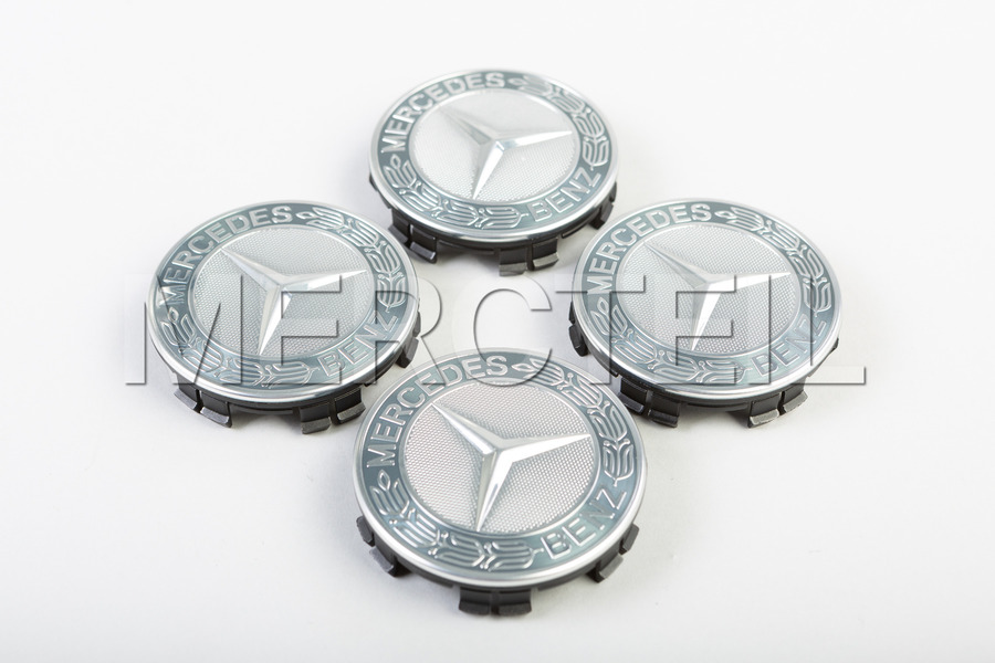 Mercedes Benz Classic Emblem Set Of Hub Caps including Hub Caps (4 pcs.) in Accessories, Wheels & Tyres.