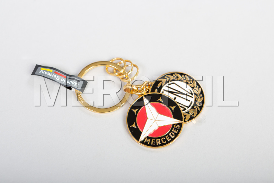Mercedes-Benz Gold Key Ring including Key Ring (1 pc.) in Accessories.