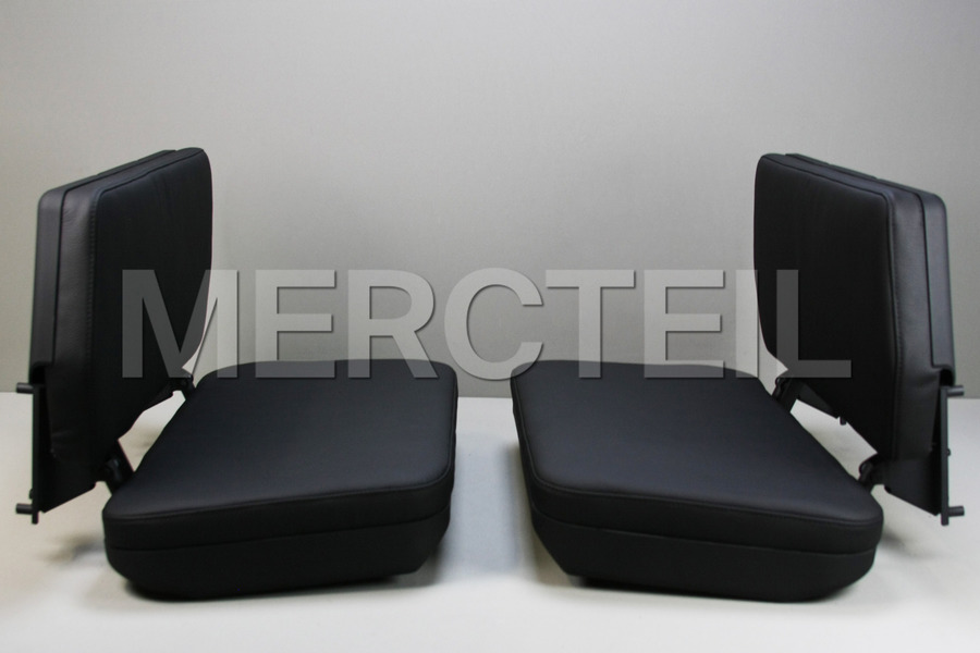 Rear Trunk Seat Set for W463 including Left Seat (1 pc.), Right Seat (1 pc.), Fastening Elements Kit (1 pc.) in Seats & Trims.
