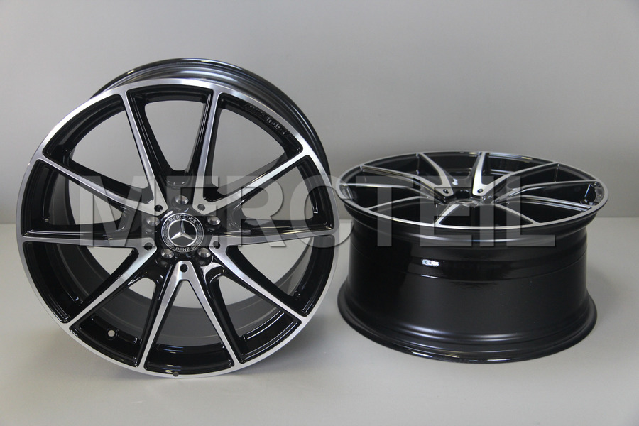 S Class AMG 20 Inch Rims for W222, C217 including Front Rims (2 pcs.), Rear Rims (2 pcs.) in Wheels & Tyres.