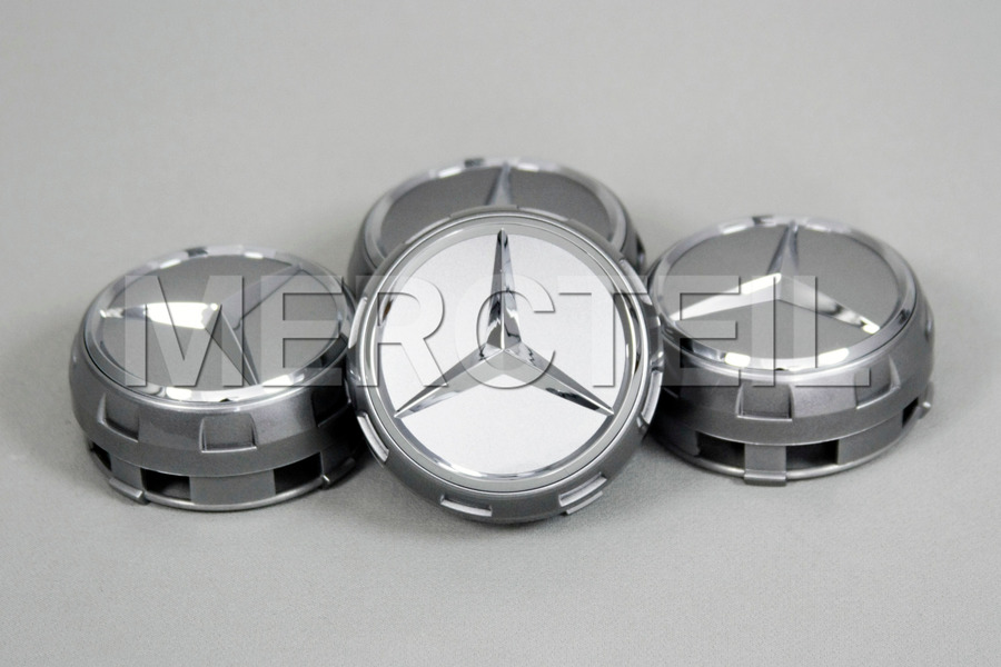 Set Of Silver Center Wheel Caps including Center Wheel Caps (4 pcs.) in Accessories, Wheels & Tyres.