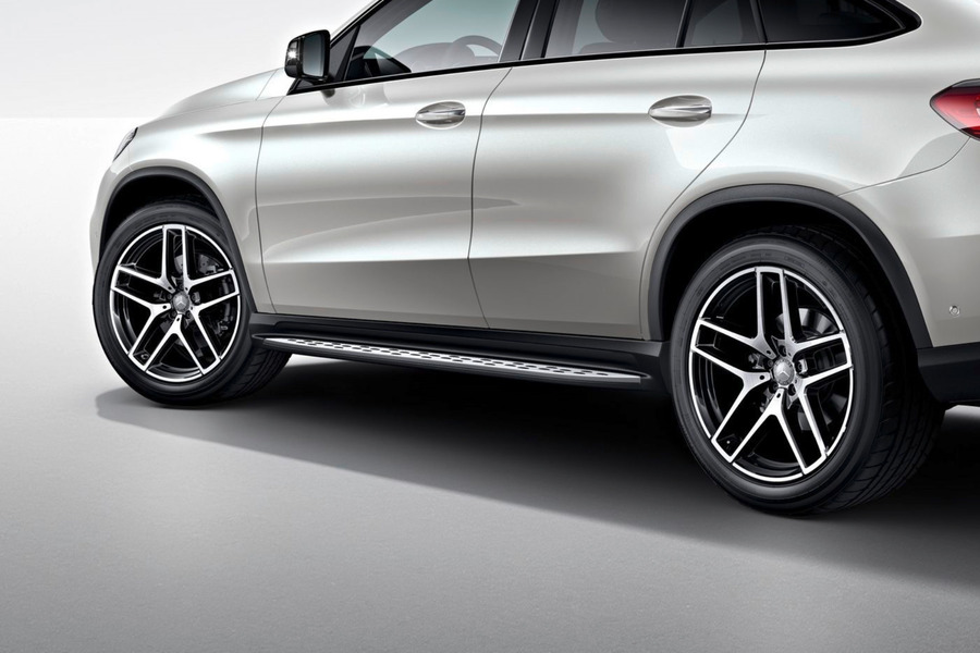 Side Steps for GLE Class W166, Coupe X292 including Set of Side Steps (1 pc.) in Body Parts & Aerodynamics.