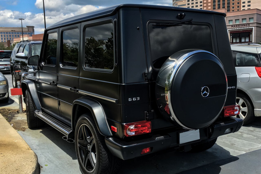 Spare Tire Cover for G Class W463 including Chrome Ring (1 pc.), Rear Cover (1 pc.), Adhesive Llogo (1 pc.), Sealings And Fasteners (1 pc.) in Body Parts & Aerodynamics, Wheels & Tyres.