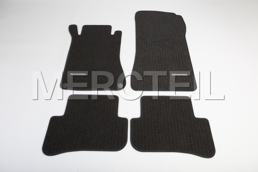 Velour Black Floor Mats With Black Stitching for C Class W203 including Floor Mats (4 pcs.) in Accessories, Seats & Trims.