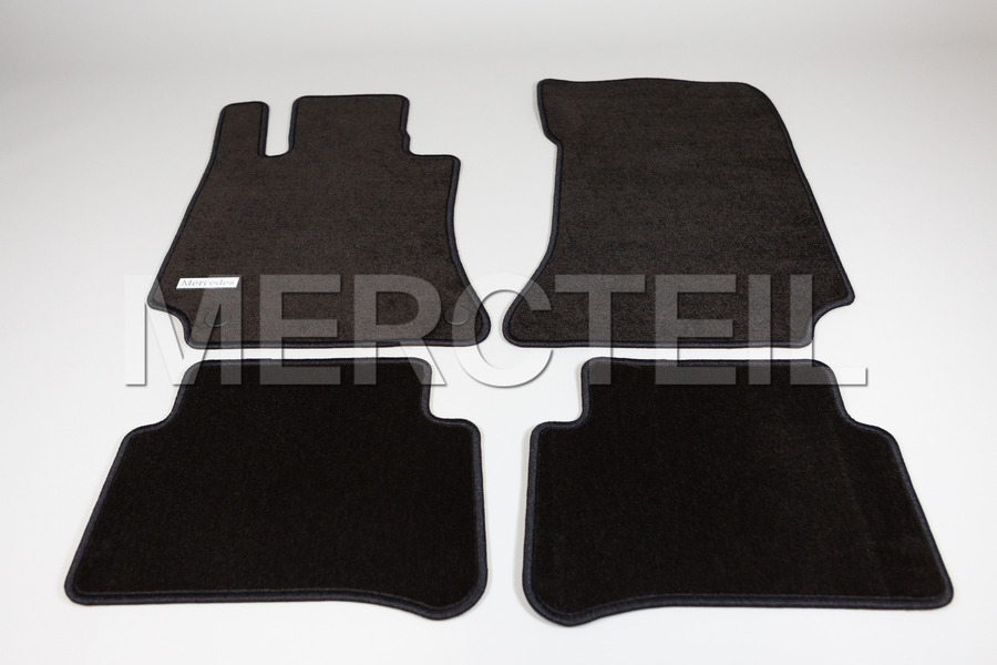 Velour Floor Mats for E Class W212 including Floor Mats (4 pcs.) in Accessories.
